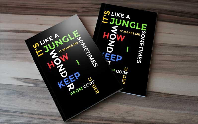 hip hop rap song book journal