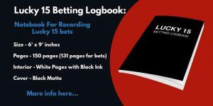 lucky 15 logbook notebook joiurnal