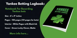 yankee betting logbook notebook journal