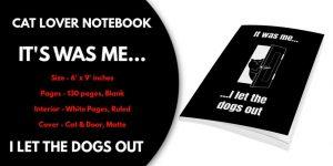 cat lover notebooks