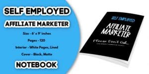 Affiliate Marketer Notebook