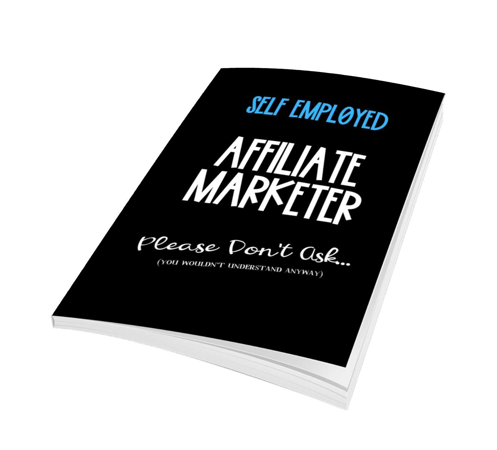 affiliate notebook for marketer