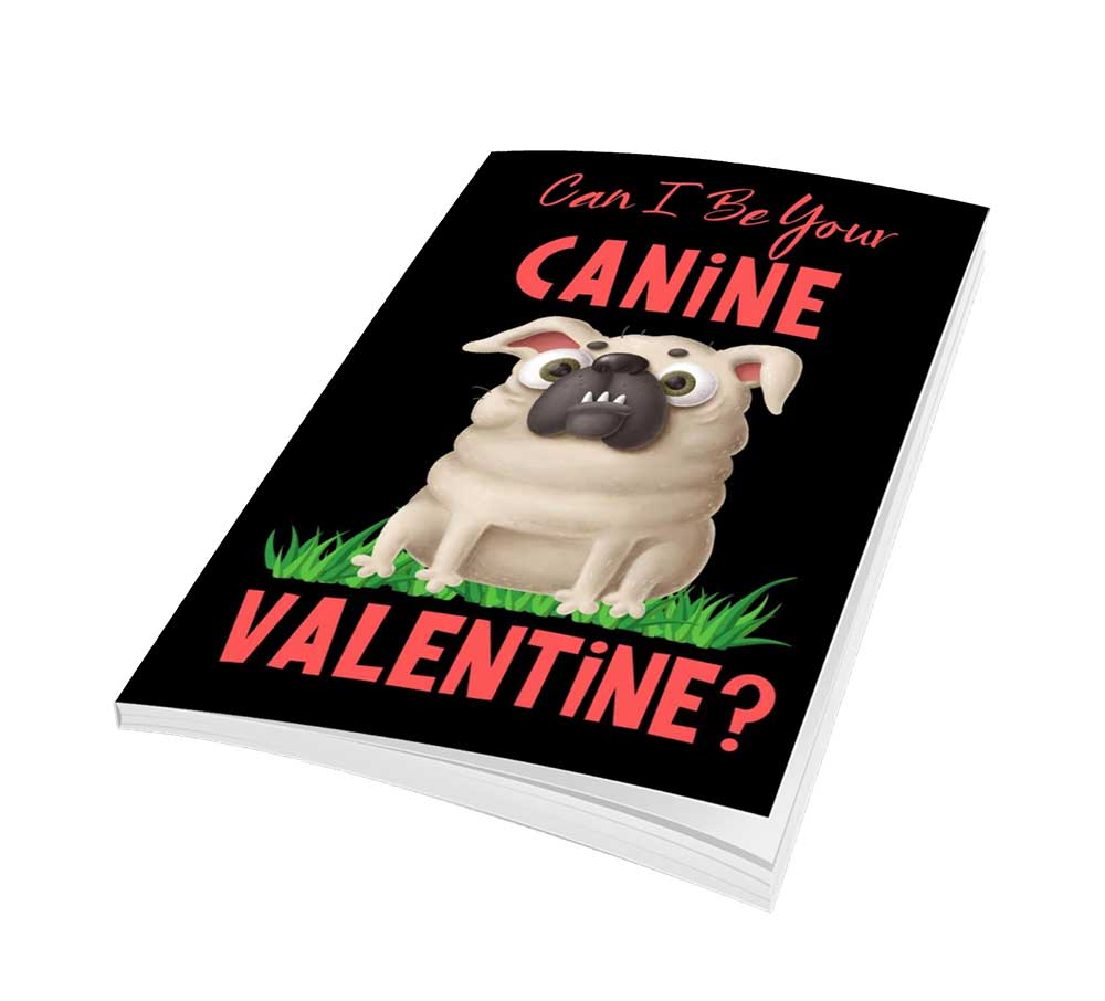 canine valentine notebook