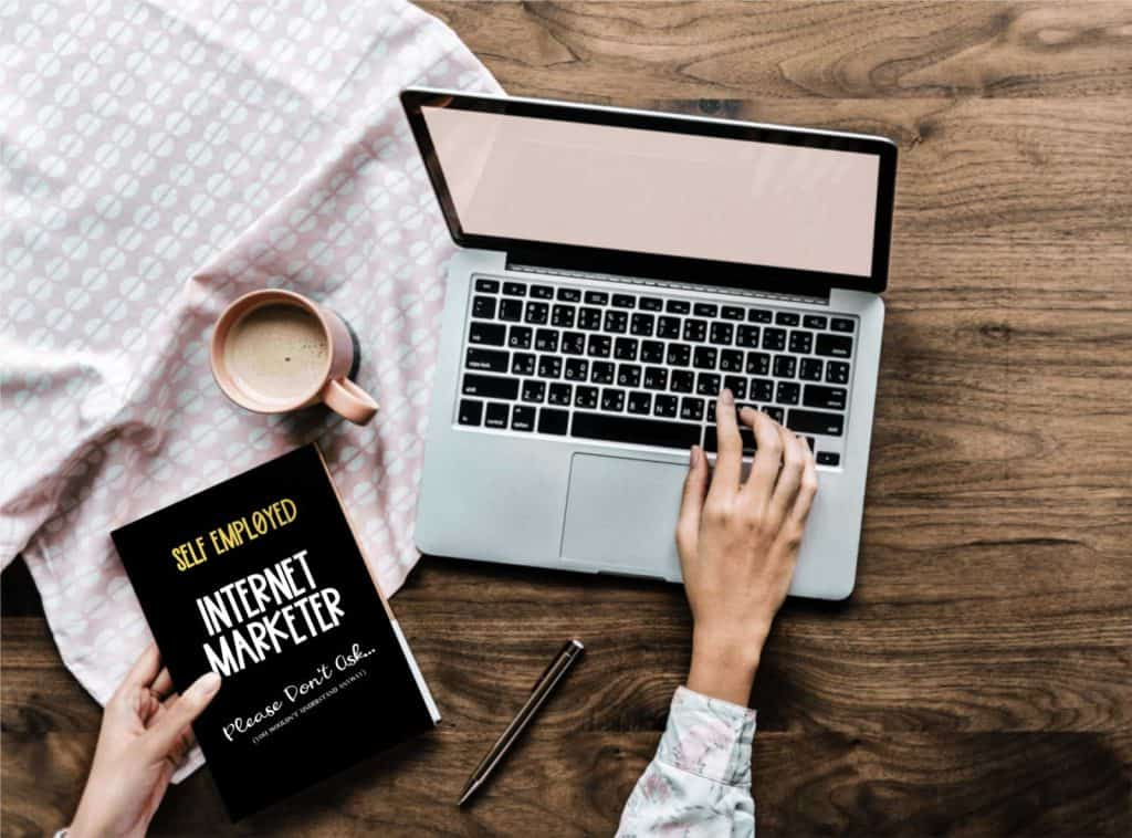 internet marketing notebook journal