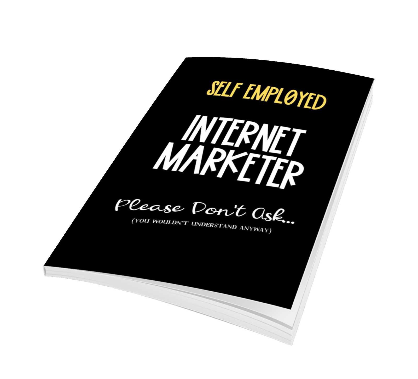 Internet Marketing Notebook journal logbook