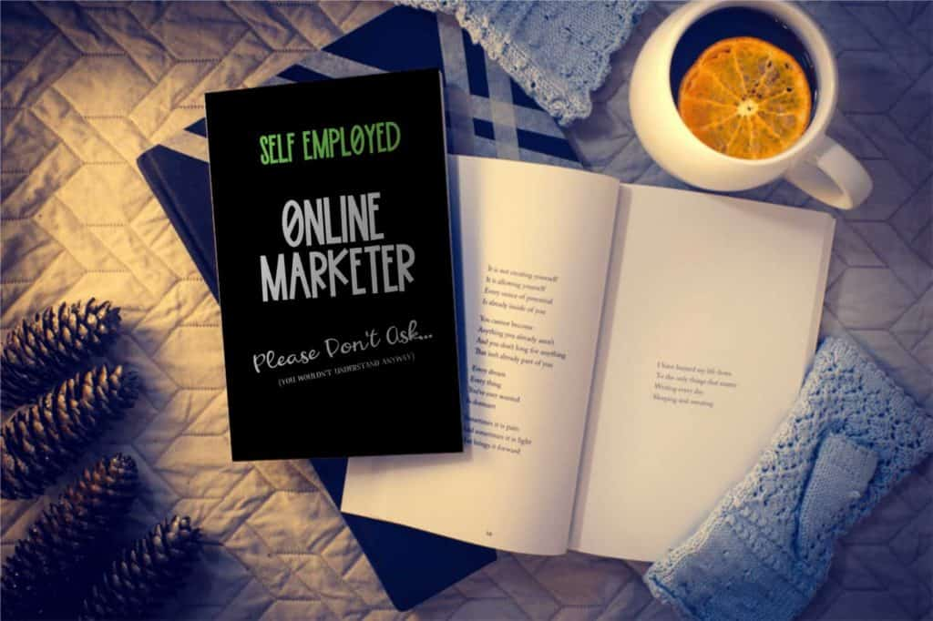 Online Marketing Notebook and journal