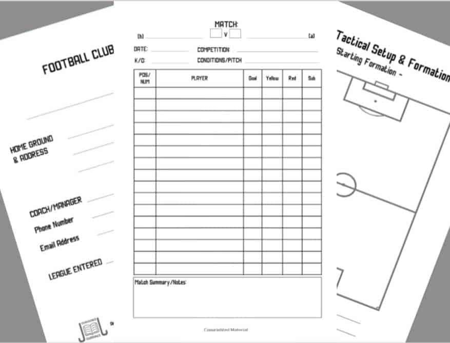soccer session planner book