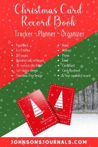 christmas card book list