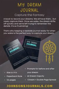 Dream Journal With Prompts