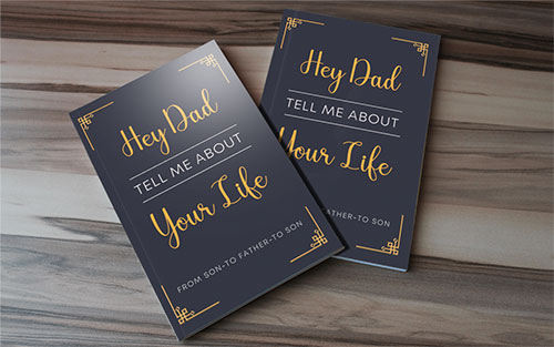 Father's Day Gift Journal For Son To Father