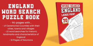 England Word Search Puzzle Book