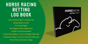 Horse Racing Betting Log Book