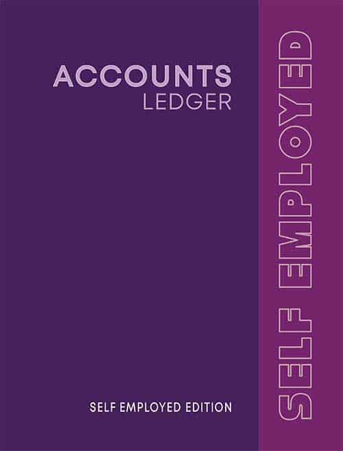Accounting Ledger for Self Employed Purple