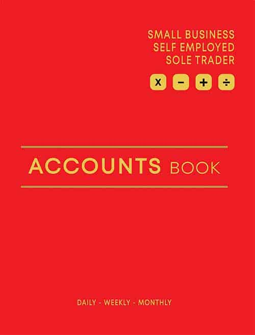 Accounts Book Red