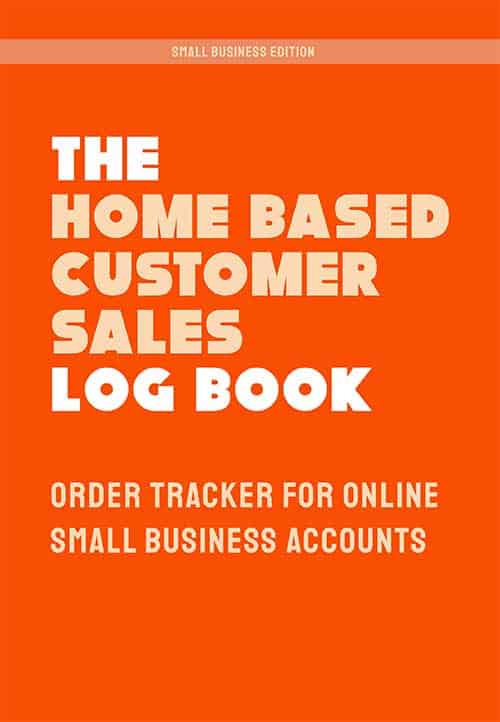 Home Based Business Order Record