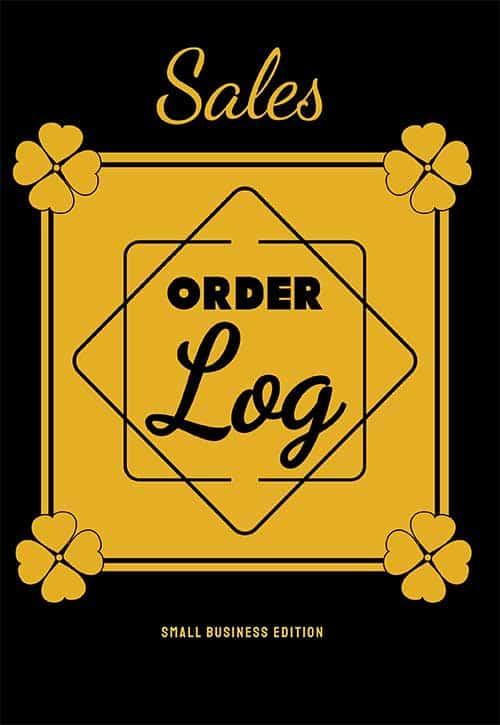 Order Log for Online Businesses